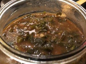 Greens and okra gumbo
