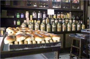 Pav bread in Irani bakery (photo credit: http://www.heritageinstitute.com/zoroastrianism/irani/cafe.htm)