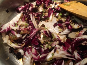 Radicchio wilting