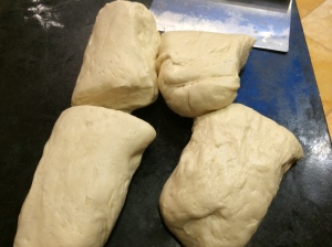 Divided dough