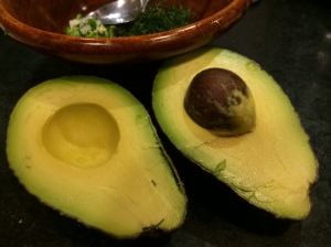 Beautiful Hass avocado