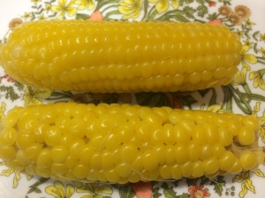 The kernels when boiled