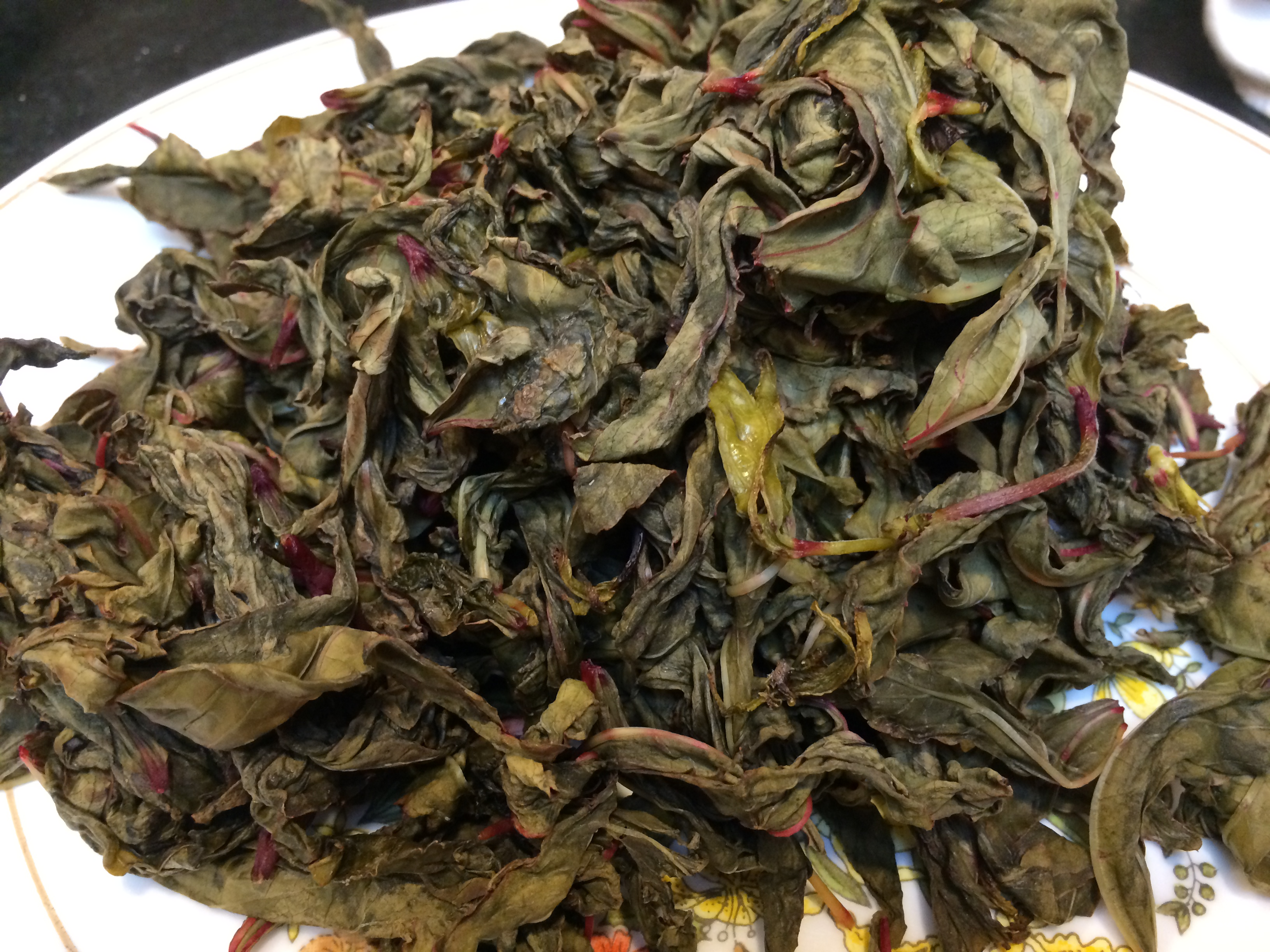 A Chutney Made From Hibiscus Leaves The Odd Pantry