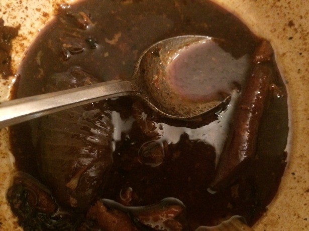 Pan drippings gravy