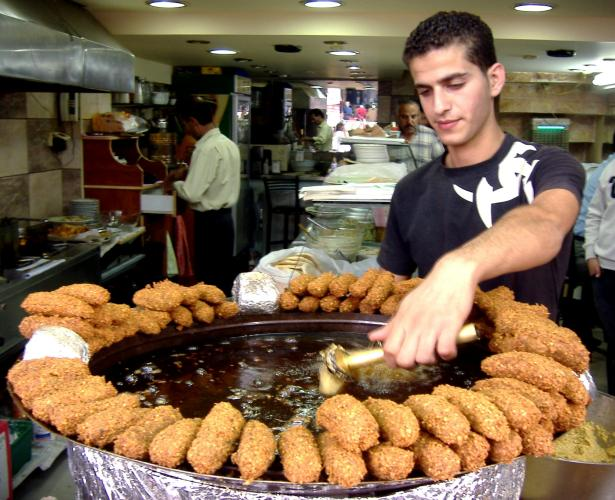 """Il Falafel di Ramallah"" by OneArmedMan - Own work. Licensed under Public Domain via Wikimedia Commons"